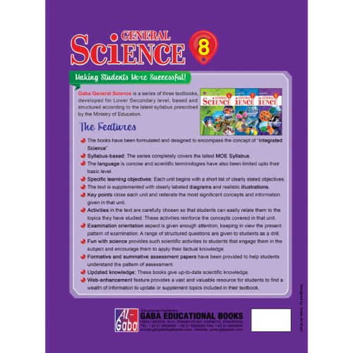 General Science updated Edition Book 8